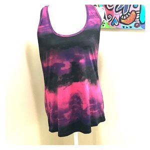 bcg large multicolored workout top